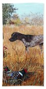 On The Hunt Beach Towel