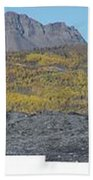On The Matanuska Glacier Beach Towel