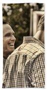 On The Road-mitt Romney Beach Towel