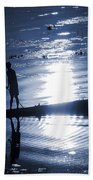 Once Upon In A Moonlit Night Beach Towel