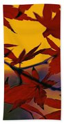 One Autumn Evening By Kaye Menner Beach Towel