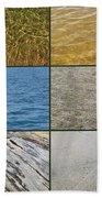 One Day At The Beach  Beach Towel by Michelle Calkins