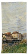 One Evening At Moret End Of October Beach Towel