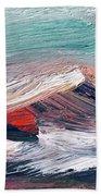 Wave Mountain Beach Towel