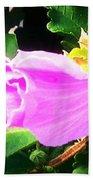 One Pretty Flower Beach Towel