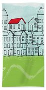 One Red Roof Beach Towel