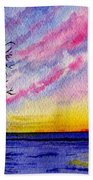 One Sunrise Beach Towel