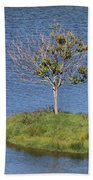 One Tree Island Beach Towel