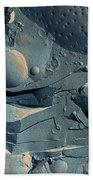 Onion Root Tip Cell, Freeze Fracture Tem Beach Towel