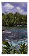 Onomea Bay Hawaii Beach Towel