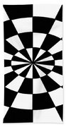 Op Art Beach Towel