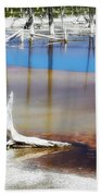 Opalescent Pool Yellowstone Np Beach Towel
