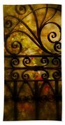 Open Iron Gate Beach Towel