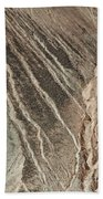 open pit mine Kennecott, copper, gold and silver mine operation Beach Towel