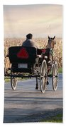 Open Road Open Buggy Beach Towel by David Arment