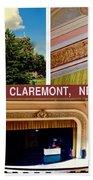 Opera House Claremont Nh Beach Towel