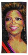 Oprah Beach Towel