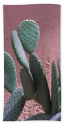 Opuntia Microdasys Beach Towel