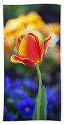 Orange And Yellow Tulip II Beach Towel