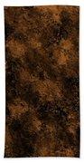 Orange Textures 001 Beach Towel