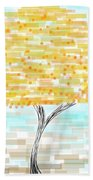 Orange Tree Beach Towel