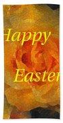 Orange You Lovely Easter Beach Sheet