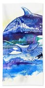 Orca Fantasy Beach Towel