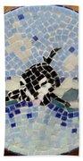 Orca Mosiac Beach Towel