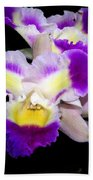 Orchid 13 Beach Towel