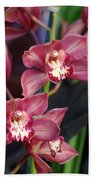 Orchid 14 Beach Towel