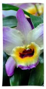 Orchid 34 Beach Towel