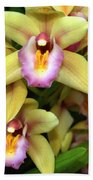 Orchid 7 Beach Towel