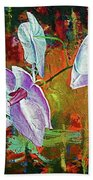 Orchid A Beach Towel