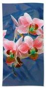 Orchid Flowers 8 Beach Towel