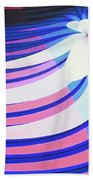 Orchid In A Stream Beach Towel