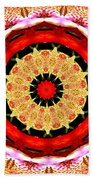 Orchid Kaleidoscope 6 Beach Towel