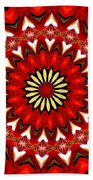 Orchid Kaleidoscope 9 Beach Towel
