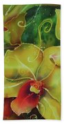 Orchid Series 11 Beach Towel