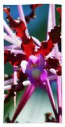 Orchid Spider Beach Towel