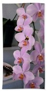 Orchid Splendor Beach Towel