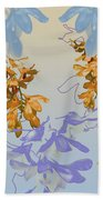 Orchids 3 Beach Towel