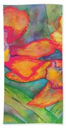 Orchids In Paradise Beach Towel