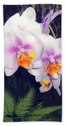 Orchids Of Hawaii Beach Towel