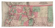 Oregon And Washington Territory Beach Sheet