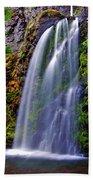 Oregon Falls Beach Towel