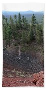 Oregon Landscape - Crater At Lava Butte Beach Towel