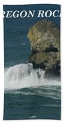 Oregon Rocks Beach Towel