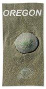 Oregon Sand Dollar Beach Towel