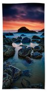 Oregon Sunset Beach Towel