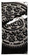 Oreo Cookie Beach Towel by Nancy Mueller